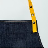 TABLIER HOMME DENIM YELLOW