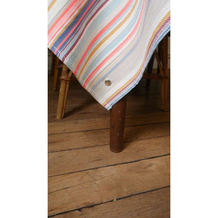 NAPPE RAYURES FLUO - 6/8 PAX